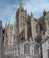 Truro Cathedral fra 1880